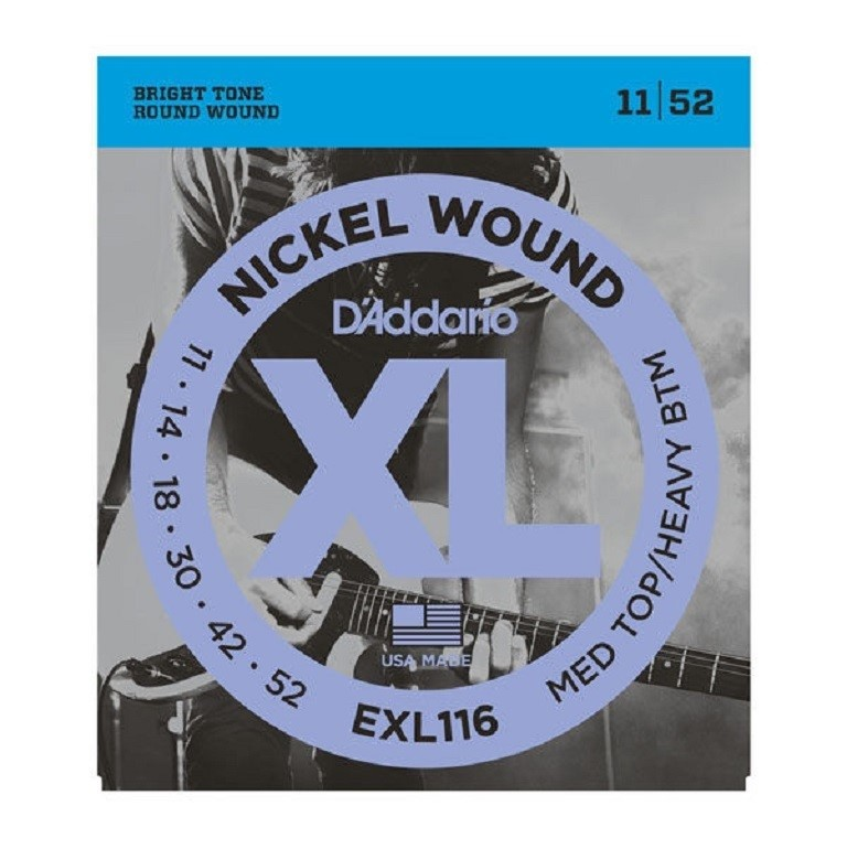 DADDARIO EXL115 ŽICE 11-49 ZA EL.GIT. BLUES/JAZZ