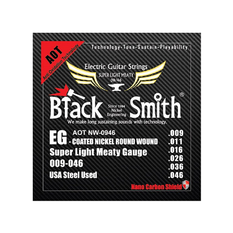 BLACK SMITH COATED ŽICE ZA EL. GIT. NW-0946
