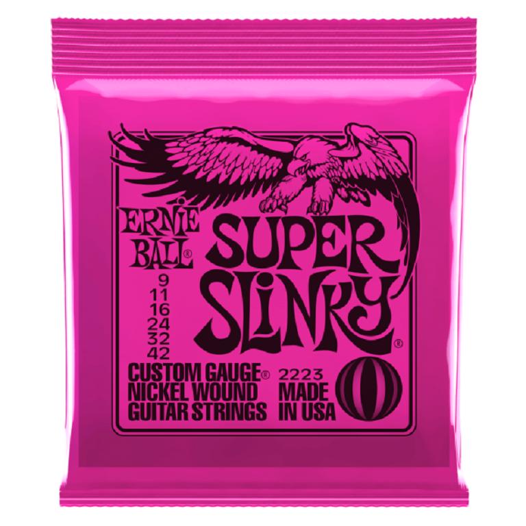 ERNIE BALL ŽICE NICKL SUPER SLINKY 09-42