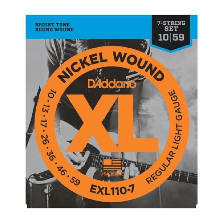 DADDARIO EXL110-7 ŽICE ZA ELEKTRIČNU GITARU 7-STRING 10-59