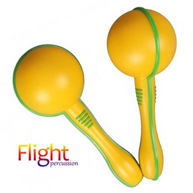 FLIGHT FMP-15 MARAKAS \ PLASIC YELLOW