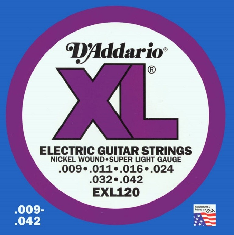DADDARIO EXL120 ŽICE ZA EL. GIT. 9-42