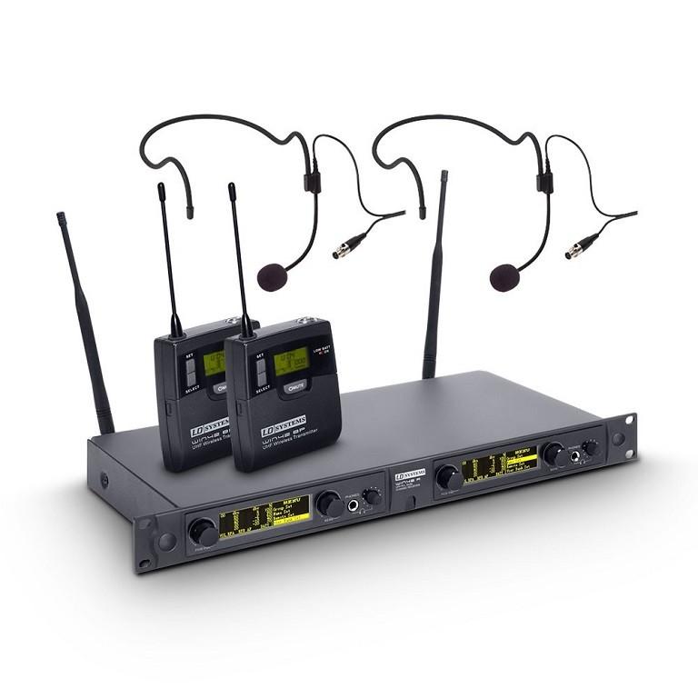 LD Systems WIN 42 BPH 2 Wireless 2 NAGLAVNA MIKROFONA